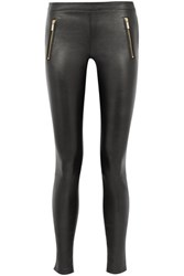 Karl Lagerfeld Sammy Leather Skinny Pants Black