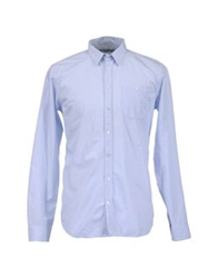Department 5 Long Sleeve Shirts Sky Blue