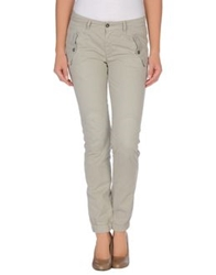 40Weft Casual Pants Light Grey