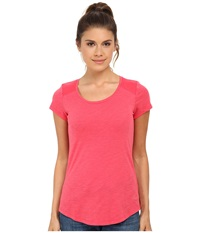 Kuhl Khloe S S Top Watermelon Women's Short Sleeve Pullover Pink