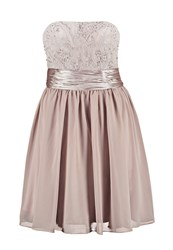 Laona Cocktail Dress Party Dress Powder Taupe