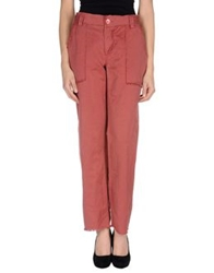 Catherine Malandrino Casual Pants Brick Red