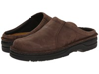 Naot Footwear Bjorn Carob Brown Leather Men's Slip On Shoes