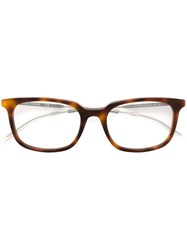 Christian Dior Dior Homme 'Black Tie 210' Glasses Metallic