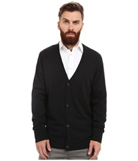 Wesc Borik Knitted Sweater Cardigan Black Men's Clothing