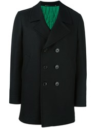 Paul Smith Double Breasted Coat Black