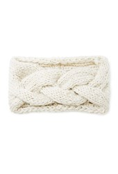 Forever 21 Braided Knit Headwrap Oatmeal