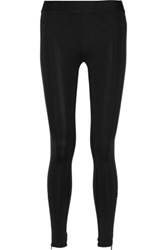 Rag And Bone Lawson Stretch Jersey Leggings Black