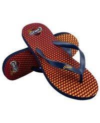 Forever Collectibles Cleveland Cavaliers High End Flip Flops Navy