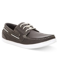 Unlisted A Kenneth Cole Production Boat Ing License Boat Shoes Men's Shoes Grey