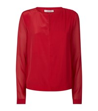 Dorothee Schumacher Textured Silk Blouse Female
