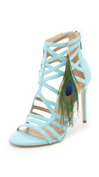 Tamara Mellon Muse Sandals Blue