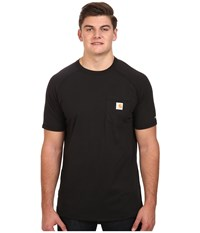 Carhartt Big Tall Force Cotton S S T Shirt Black Men's T Shirt