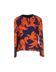Dries Van Noten Shirts Blouses Women Orange