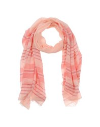 Max And Co. Accessories Oblong Scarves Women Salmon Pink