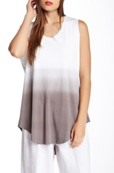 Planet Ombre Tank Gray