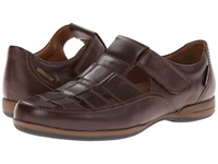 Mephisto Rafael Dark Brown Smooth Men's Hook And Loop Shoes