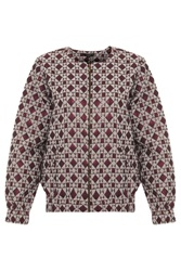 Kage Diamond Print Jacket