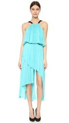 J. Mendel Halter Front Gown Light Jade