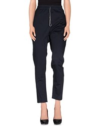 Novemb3r Trousers Casual Trousers Women Dark Blue