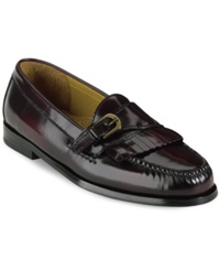 Cole Haan Pinch Buckle Loafers Men's Shoes Burgundy
