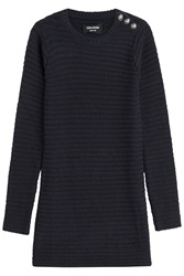 Zadig And Voltaire Striped Pullover With Merino Wool Multicolor