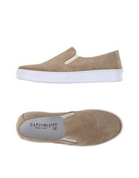 Cafe'noir Cafenoir Footwear Low Tops And Trainers Women Khaki