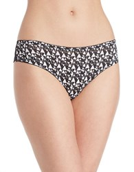 Candc California Cheeky Laceback Hipsters Black White