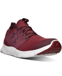Under Armour Men's Drift Mineral Running Sneakers From Finish Line Cardinal Glacier Gray Sys