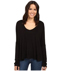 Project Social T Marley Long Sleeve Black Women's Clothing