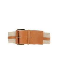 Guess By Marciano Belts Brown
