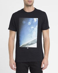 Billabong Black Bokeh Print T Shirt
