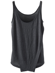 Poetry Double Layered Linen Jersey Vest Top