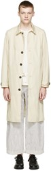 Acne Studios Beige Milo Pop Trench Coat