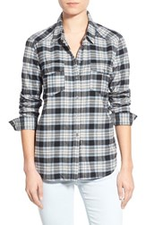 Women's Paige Denim 'Mya' Plaid Shirt