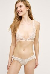 Anthropologie Natori Feathers Wireless Convertible Bra Pearl 32 B C Intimates