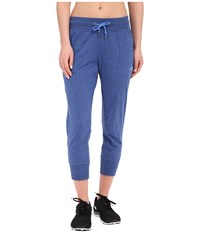 The North Face Jersey Capris Coastline Blue Heather Women's Capri