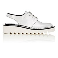 Stella Mccartney Women's Slingback Oxfords Silver