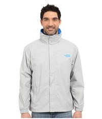 The North Face Resolve Jacket High Rise Grey Bomber Blue Men's Sweatshirt Gray