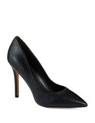 Charles By Charles David Pact Leather Stiletto Pumps Black