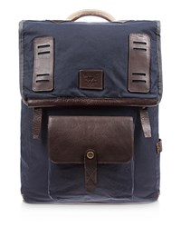 Will Leather Goods Timberline Rucksack Navy