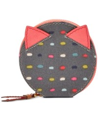 Fossil Keely Zip Coin Purse Dot
