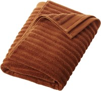 Cb2 Channel Copper Cotton Bath Towel