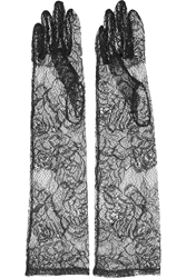 Dolce And Gabbana Lace Gloves
