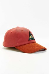 Urban Outfitters Uo Patch Baseball Hat Red