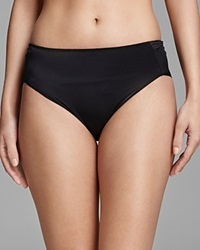 Tc Fine Shapewear Tc Fine Intimates High Cut Briefs Microfiber A404 Black