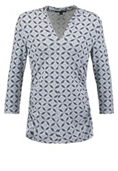 Comma Long Sleeved Top Blue