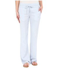 Hurley Venice Beach Pants Chambray Dobby Women's Casual Pants Gray