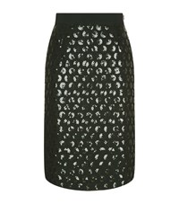Escada Rondana Sequin Skirt Female Green