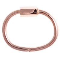 Cast Of Vices Barrel Lock Bracelet Rose Gold
